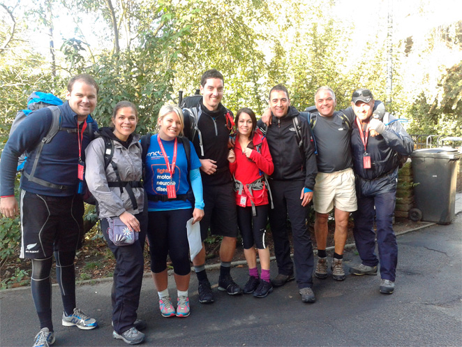 We completed the Thames Path Challenge