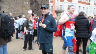 Mike has Completed the London Marathon